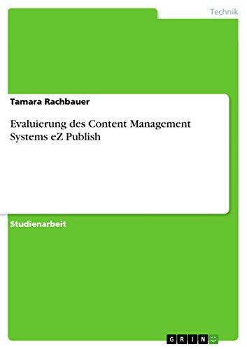 Evaluierung des Content Management Systems eZ Publish