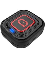 qlipp qt2015bk001tenis rendimiento Sensor–Negro, 3.0x 2,8x 1cm