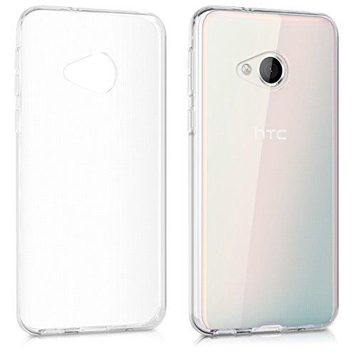 kwmobile HTC U Play Hülle - Handyhülle für HTC U Play - Handy Case in Transparent