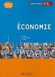 Economie 1e STG by Sylvie Baron (2007-04-25)