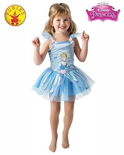 Rubie's 3 884648 t - Kostüm Cinderella Ballerina Größe Toddler (Outfits Disney Toddler)
