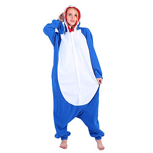 Shark Pyjama Kostüm - Egosy Erwachsene Unisex Shark Pyjamas