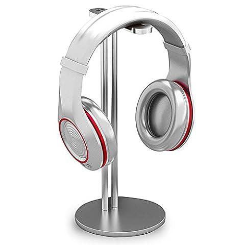 First2savvv JS-EJJ-11 Aluminium Support De Casque Headphone Earphone Headset