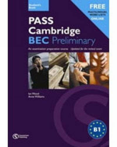 Pass Cambridge Bec Preliminary Self - Study Practice Tests with Key + CD