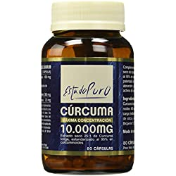 Tong-Il 001200254 Complemento Alimenticio Cúrcuma, 10.000 mg, 80 Cápsulas