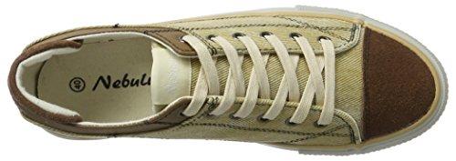 Nebulus Speed, Sneaker Uomo Beige/Marrone