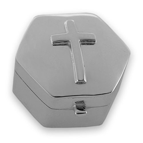 Sterling Silber Kreuz Schatulle