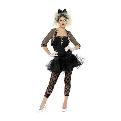 Generique - 80er Jahre Rock-Kostüm für Damen ()