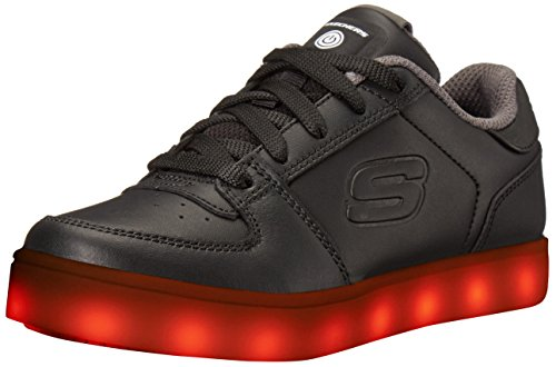 Skechers energy lights-elate, formatori bambino, nero (black), 36 eu