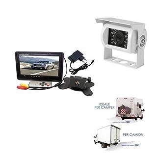 Rückfahrkamera-Set, 18LED, inkl. 7 Zoll-Monitor