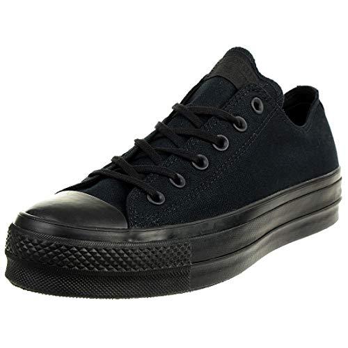 Converse Chuck Taylor All Star Clean Lift OX 562926C Damen-Sneaker Black/Black Gr. 41,5 (US 10) Star-low Top Sneaker