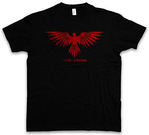 House Atreides T-Shirt – Insignia Logo Zeichen Eagle Adler Dune Harkonnen Spice Harkonnens sandworm Größen S – 5XL (Adler-logo-shirt)