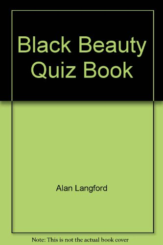 Black Beauty quiz book