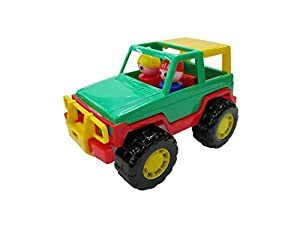 Polesie - Juguete para Arrastrar Jeep (PW36636)