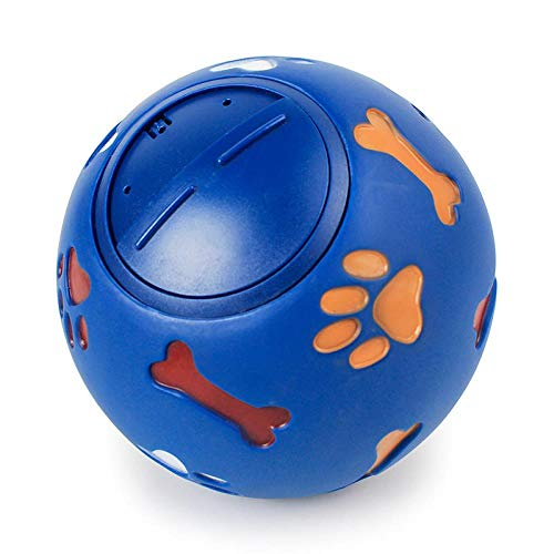 YINTING Haustier Spielzeug Pet Dog Toy Pure Natural Rubber Leakage Food Ball Interactive Pet Cat Teething Training Chew Toys (Cat Spielzeug-gummi-ball)
