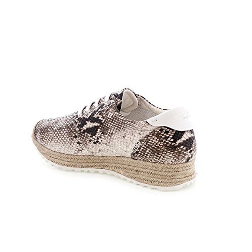 Sixty Seven 77953, Baskets Basses Femme Multicolor (Snap natural/Blanco)