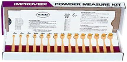 LEE Precision 90100 Polvora-Maß-Set, Mehrfarbig, Einheitsgröße