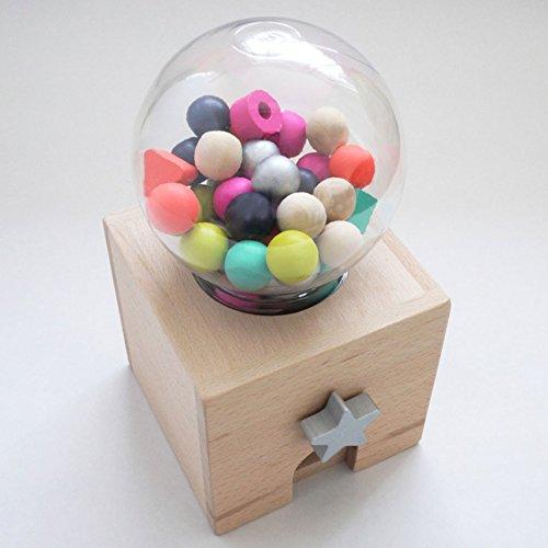 Preisvergleich Produktbild Kiko+ Gatcha Gatcha Holzkugel-Automat
