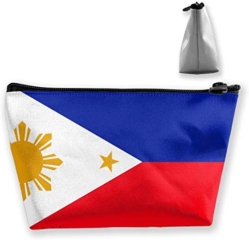Philippines Flag Make Up Bag Toiletry Bag Travel Cosmetic Bags Pouch -
