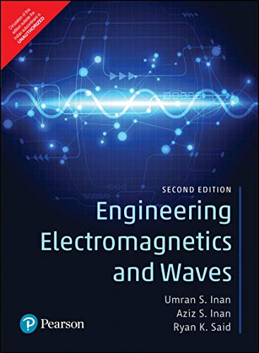 Engineering Electromagnetics and Waves | Second Edition | By Pearson