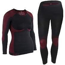 Amazon.es  camisetas termicas interiores - Rojo d546f441ce9e