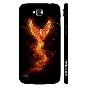 LG G Pro Lite Dual Fire Bird designer mobile hard shell case by Enthopia