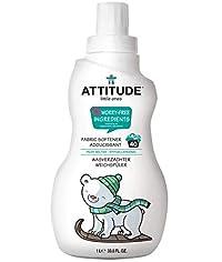 ATTITUDE Fabric Softener, Pear Nectar, 33.8 Fluid Ounce