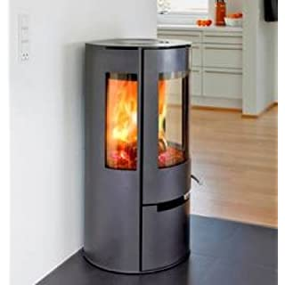 Aduro 9 - Black DEFRA Danish 6kW wood burning stove