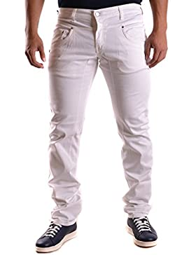 Daniele Alessandrini Hombre MCBI086413O Blanco Algodon Jeans