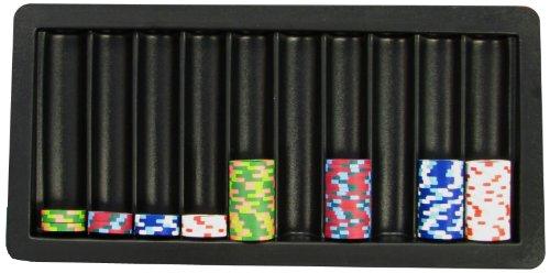 Markenzeichen Poker 10-Row Blackjack-Tisch Tablett