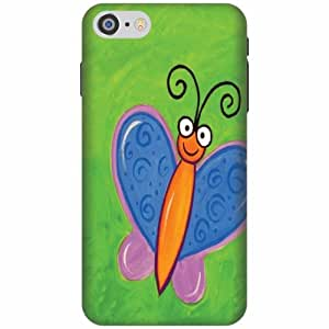 Printland Printed Hard Plastic Back Cover for Apple iPhone 7 -Multicolor