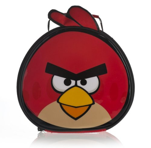 Image of Angry Birds Shaped Lunch Bag