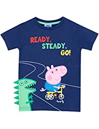 Peppa Pig Boys George Pig T-Shirt Ages 18 Months To 8 Years