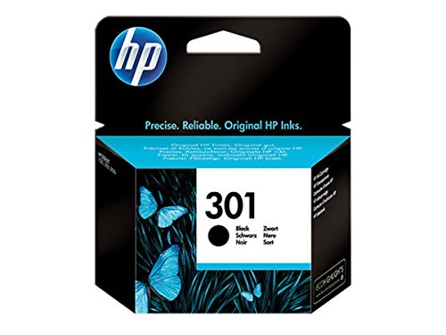 HP Original–HP–Hewlett Packard Envy 4508e-All-in-One (301/CH 561EE)–Tête d'impression noir–190pages–3ml