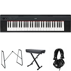 Yamaha NP11 Digital Piano Bundle