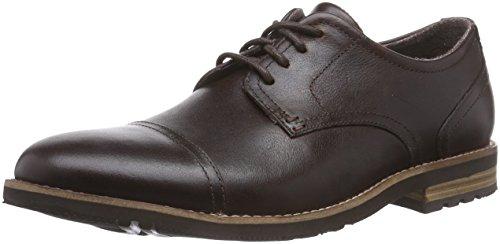 Rockport LH2 CAP OXFORD Herren Derby Schnürhalbschuhe Braun (Dark Brown)