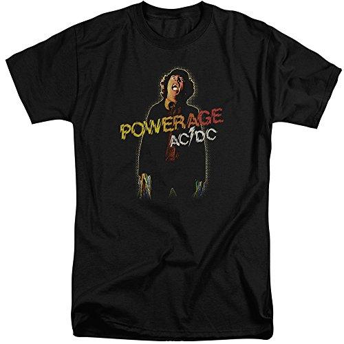 AC/DC Herren T-Shirt Schwarz