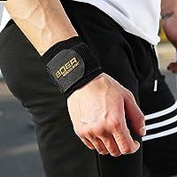 BOER Sport Armschienen, Komfortabel und atmungsaktiv, Rutschfeste, Verschleißfest, Einstellbar, Unisex, Fitness Armschienen 1 Paar