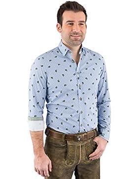 Hatico Mode Pure Trachtenhemd Herren Langarm C52625-21391 175