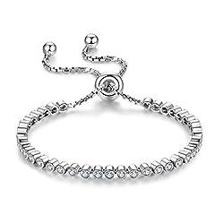Idea Regalo - J.Vénus Bracciale in argento 925 Gioielli donna