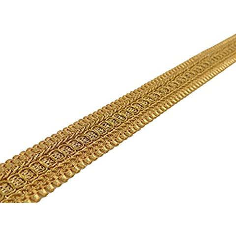 La cinta del arte 3,0 cm de ancho de costura material trenzado ajuste de la decoración por el astillero