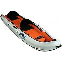 Blueborn Boat Coasteer SRE300 - Imbarcazione Sit-on-Top per 2 persone 300x88 cm, 150 kg, ideale per lo snorkeling e le immersioni