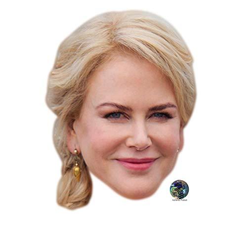 Celebrity Cutouts Nicole Kidman Big Head. -