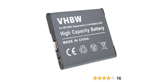 Vhbw Hochleistungs Akku Li Ion Passend Für Sony Elektronik