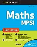 Mathématiques MPSI - Tout-en-un