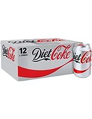 Diet Coke Drink, 12 x 330 ml