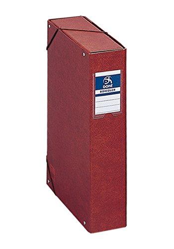 DOHE- Caja proyectos Lomo, 7 cm, Cuero, Color (9573)