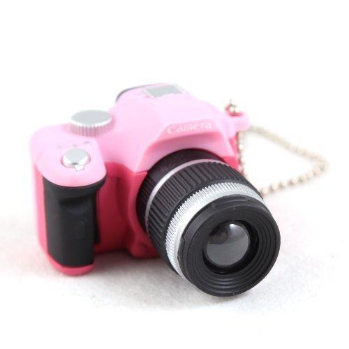 ma-on Funny Mini SLR Kamera Schlüsselanhänger Ornament (Pink)