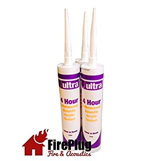 Intumescent Fire & Acoustic Acrylic Mastic x 1