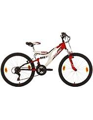 "KS Cycling Zodiac Vélo VTT Enfant 24"" 38 cm"